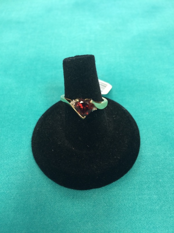 HEART STONE RING FOR THE ONE IN YOUR HEART