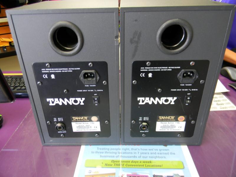 TANNOY Speakers/Subwoofer STUDIO MONITORS