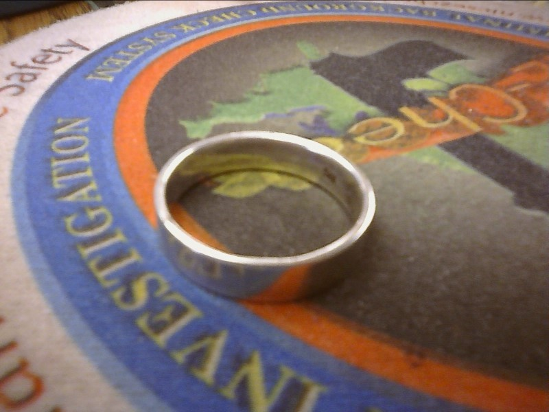 Gent's Silver Ring 925 Silver 3.5dwt