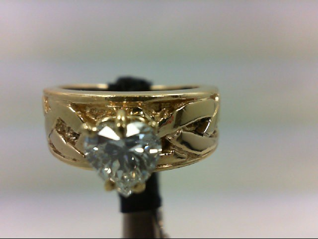 Lady's Diamond Wedding Band 1.00 CT. 14K Yellow Gold 8.38g