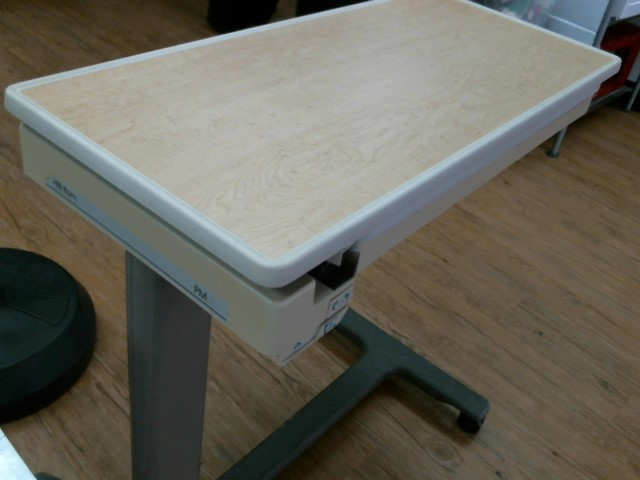 """HILL-ROM """"One of a kind"""" BED TABLE"""