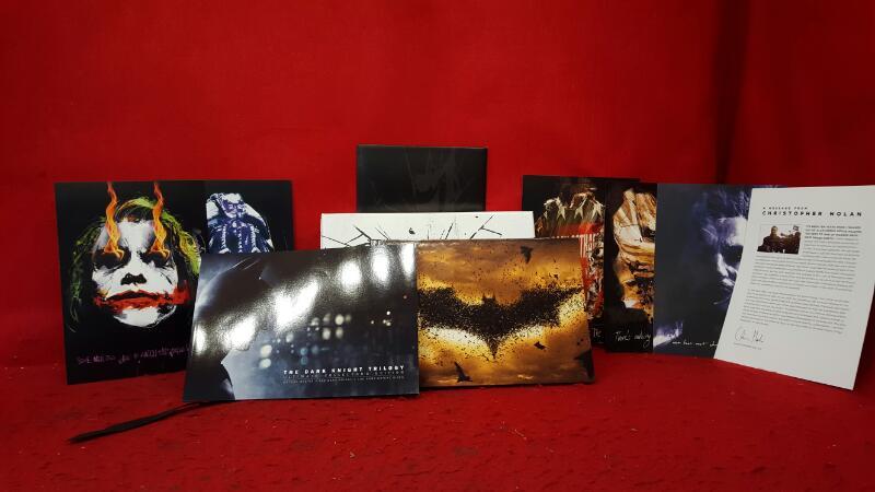 BLU-RAY MOVIE Blu-Ray BATMAN TRILOGY
