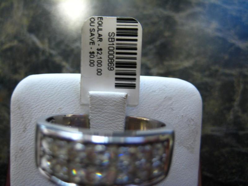 Gent's Gold Ring 14K White Gold 1g