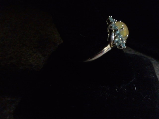 Lady's Silver Ring 925 Silver 3.3g Size:7.5