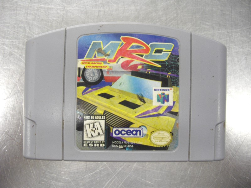 N64 MULTI-RACING CHAMPIION MRC GAME ONLY