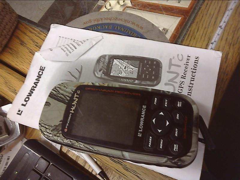 LOWRANCE GPS System I FINDER