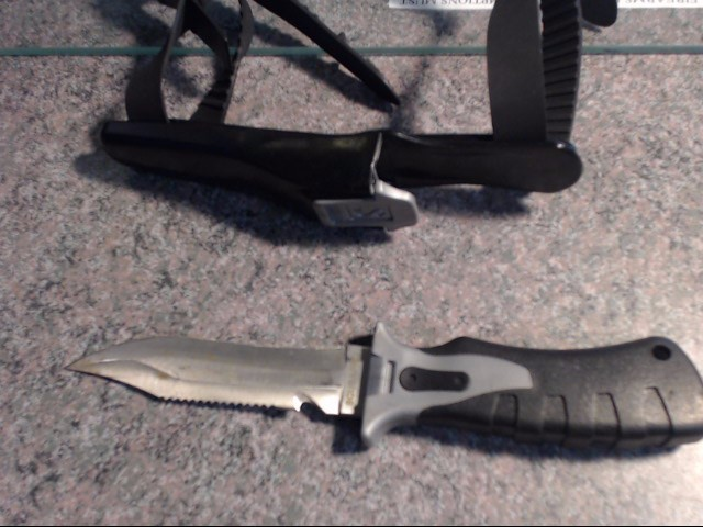 SCUBAPRO Hunting Knife DIVE KNIFE