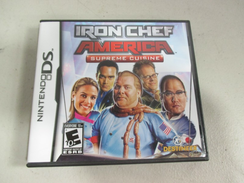 IRON CHEF AMERICA Supreme Cuisine DS GAMES
