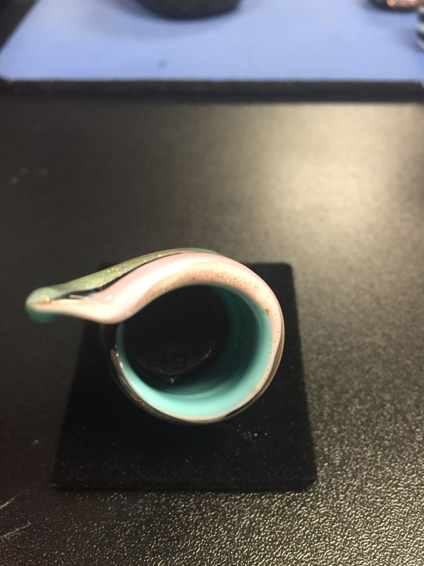Lady's Ring glass multicolor