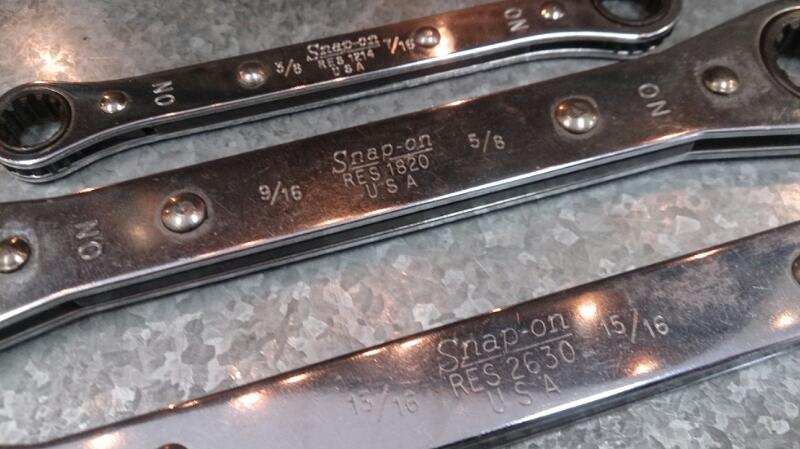 SNAP ON RES2630 3PC SET