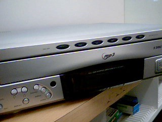 RCA CD Player & Recorder RP8078