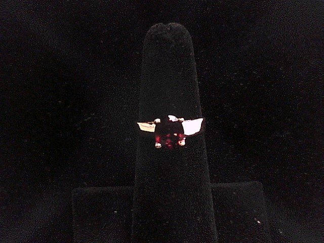 14K SPINEL SOLITAIRE GOLD RING