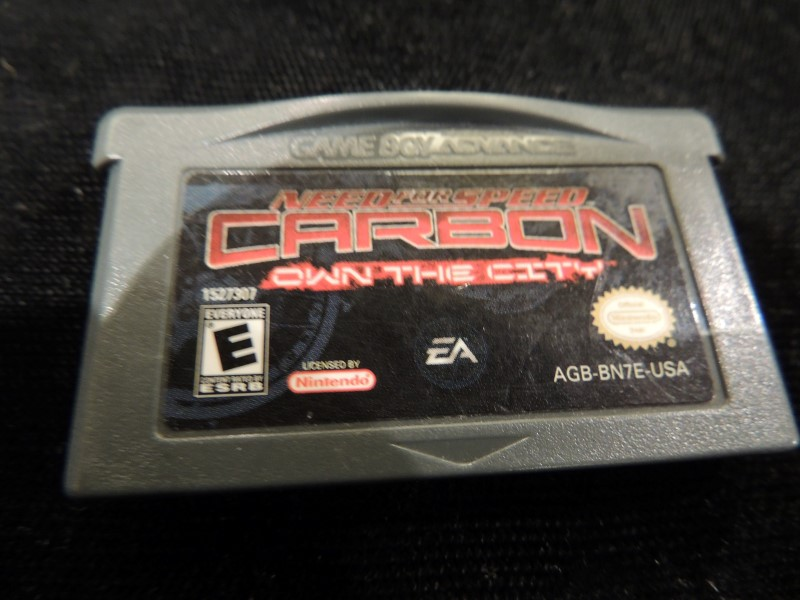 NEED FOR SPEED CARBON OWN THE CITY - GAMEBOY ADVANCED GBA 2006