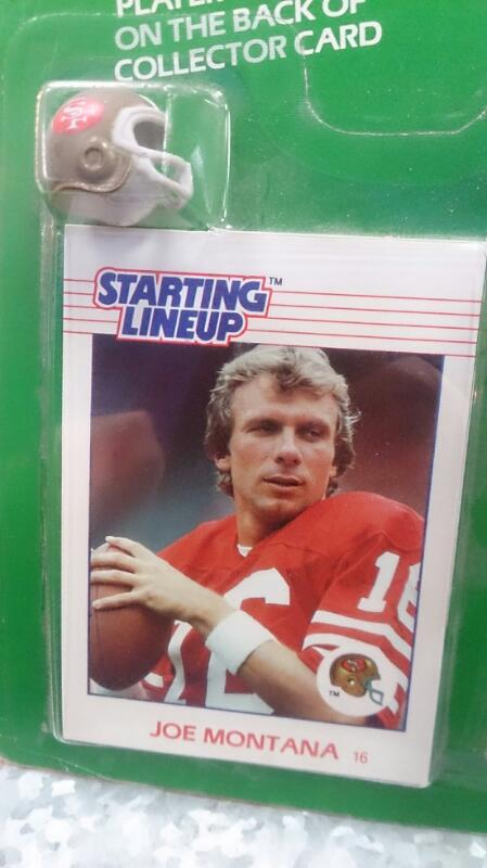 JOE MONTANA STARTING LINEUP FIGURE COLECCTION