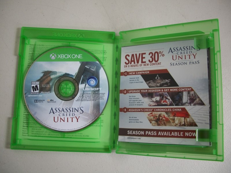 MICROSOFT Microsoft XBOX One ASSASSIN'S CREED UNITY - XBOX ONE