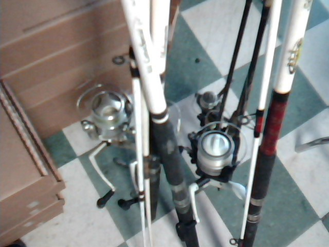 3 RIVER RODS AND 3 BASS RODS