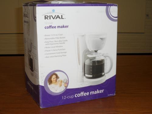 RIVAL Coffee Maker RV076
