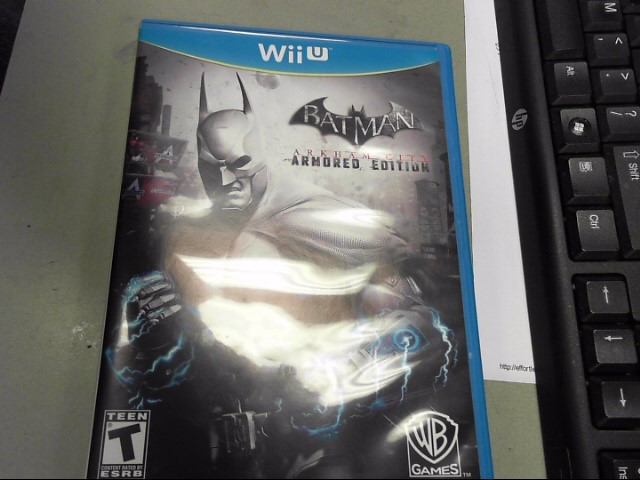 WARNER BROTHERS Nintendo Wii U Game BATMAN ARKHAM CITY ARMORED EDITION