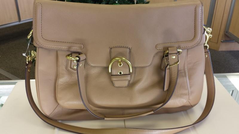 COACH Handbag CMB LTHE EVE FLAP SATACHEL