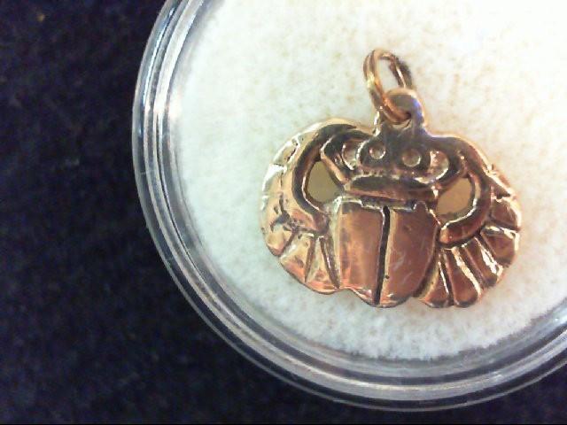 Gold Charm 14K Yellow Gold 1.5g