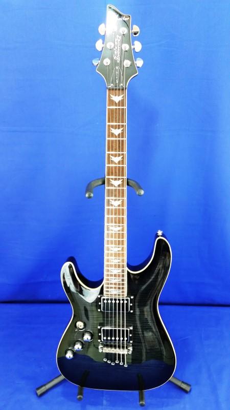 schecter elec guitar diamond series lh very good buya. Black Bedroom Furniture Sets. Home Design Ideas