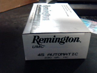 REMINGTON ARMS Ammunition UMC .45 AUTO
