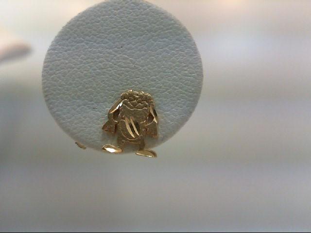 Gold Earrings 14K Yellow Gold 1g