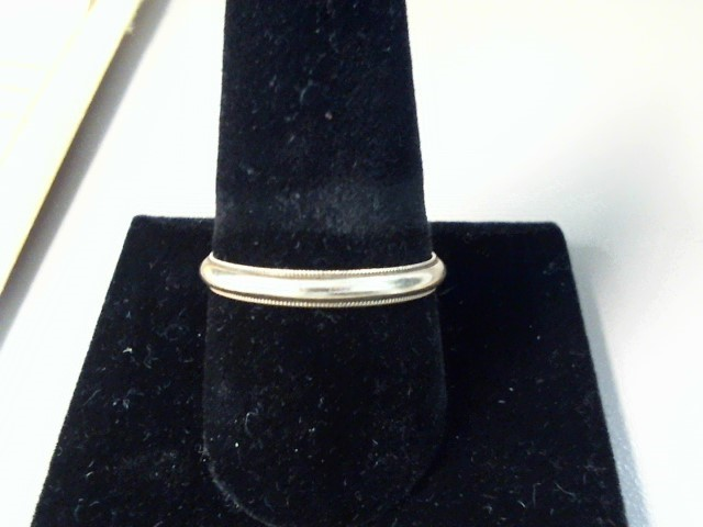 Gent's Gold Wedding Band 10K Yellow Gold 1.5dwt Size:11