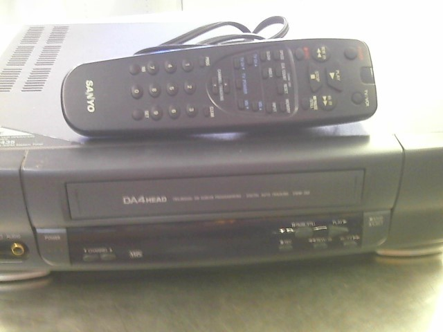 Sanyo VCR Player Model No#VWM-350