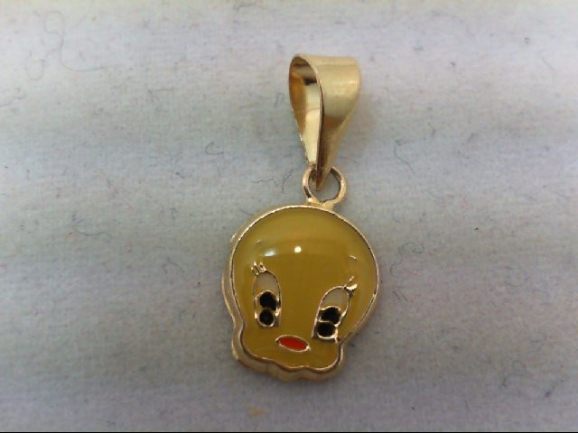Gold Charm 14K Yellow Gold 0.2g