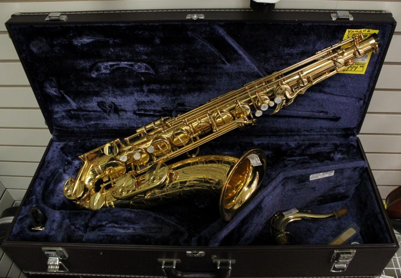 yamaha saxophone yts 62 pro tenor w case very good buya. Black Bedroom Furniture Sets. Home Design Ideas