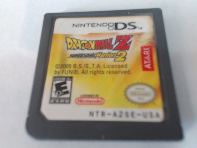 Nintendo DS Game DRAGONBALL Z SUPERSONIC WARRIORS 2