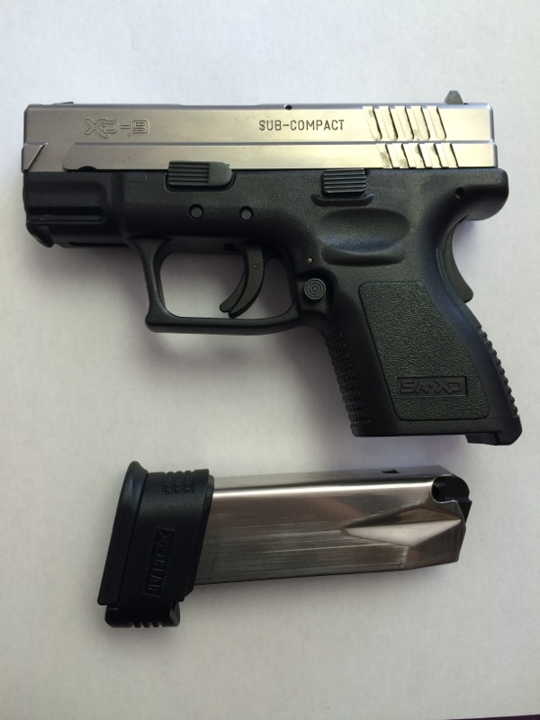 Springfield Armory - XD 9 - SubCompact - 9MM
