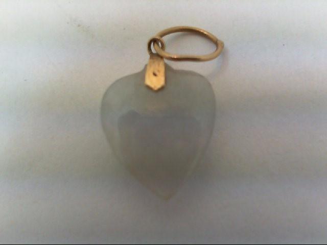 Gold Charm 14K Yellow Gold 0.6g