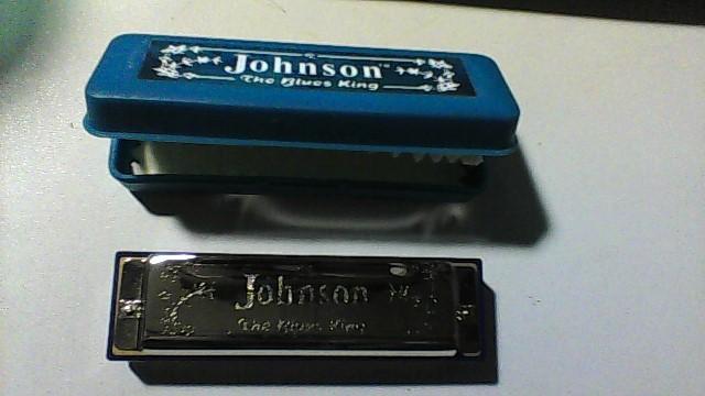 JOHNSON Harmonica THE BLUES KING