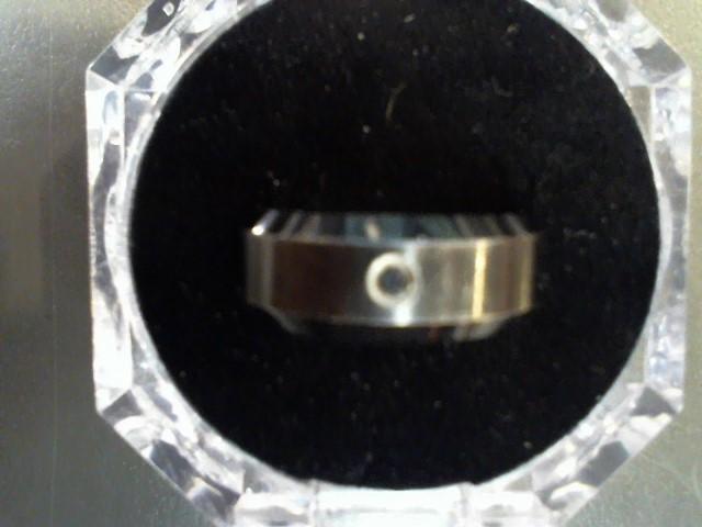Gent's Wedding Band Black Tungsten 13.3g