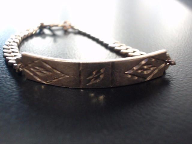 18k Yellow Gold Diamond Cut Bracelet