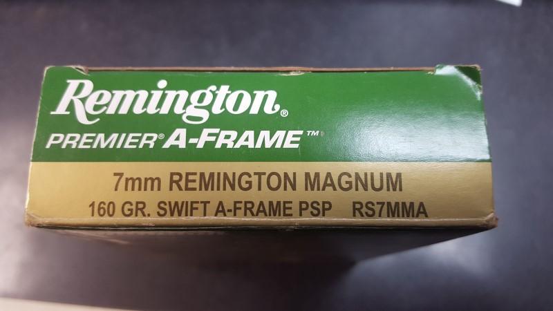REMINGTON FIREARMS Ammunition RS7MMA