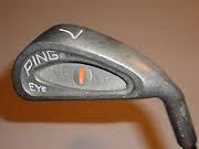 PING Golf Club EYE ORANGE DOT 7 IRON