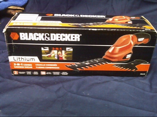 BLACK & DECKER Miscellaneous Lawn Tool GSL35