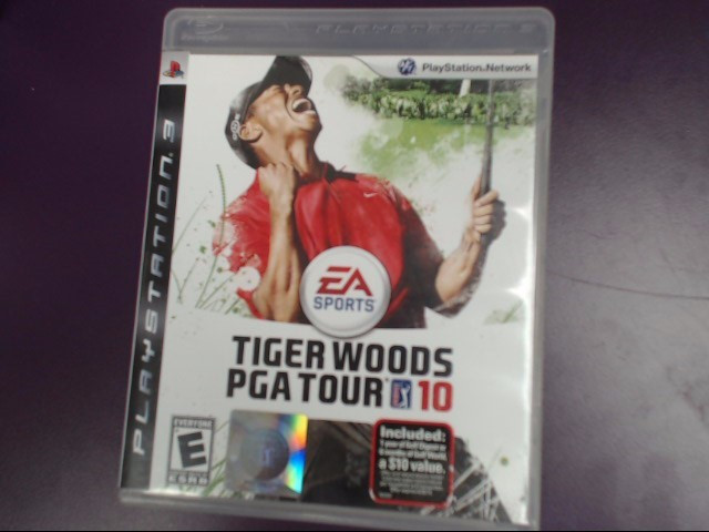 Tiger Woods PGA Tour 10 (Sony PlayStation 3, 2009)