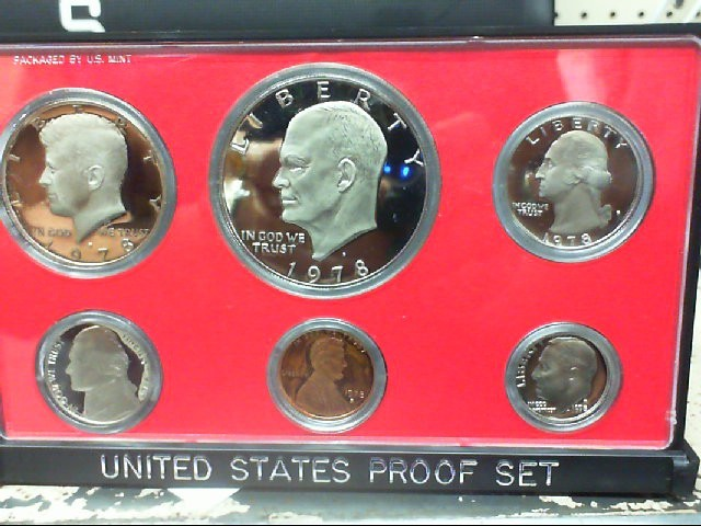 US PROOF SET 1978 COINS