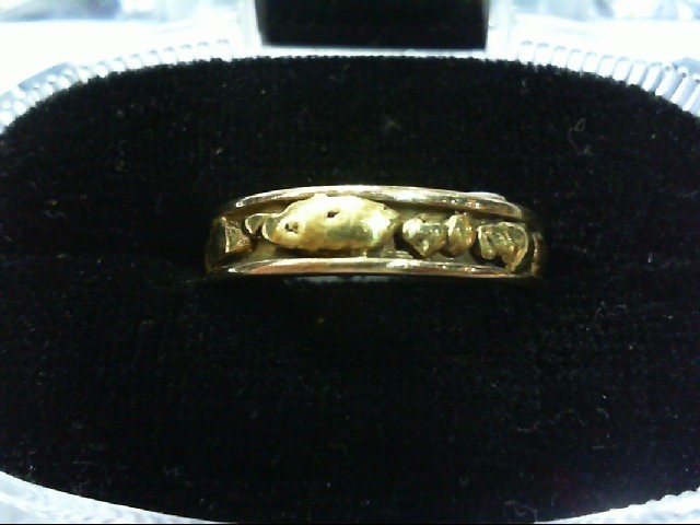 Lady's Gold Wedding Band 999 Yellow Gold 4.4g