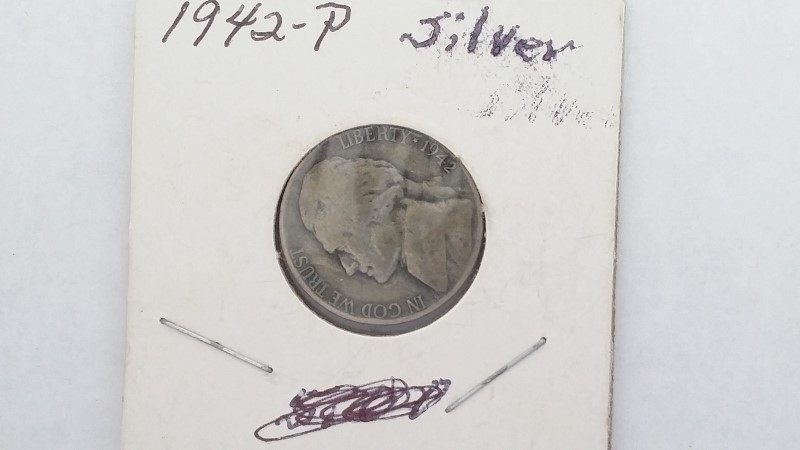 United States 1942-P War Nickel