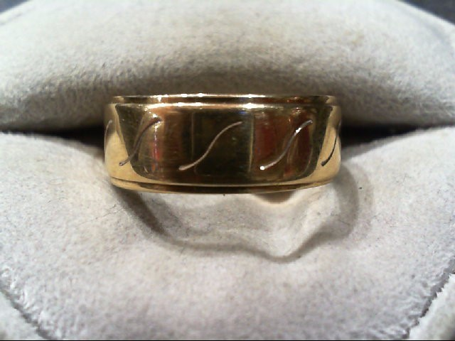 Gent's Gold Ring 14K Yellow Gold 5g