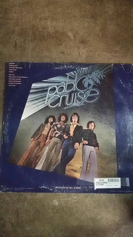 Pablo Cruise Worlds Away Vinyl