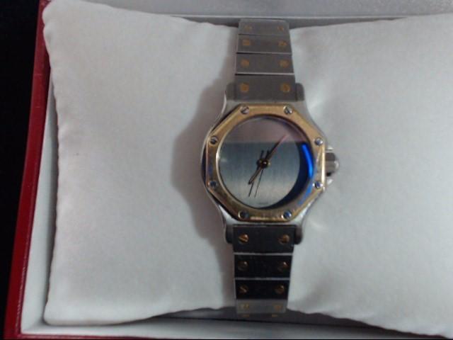CARTIER Lady's Wristwatch SANTOS OCTOGON