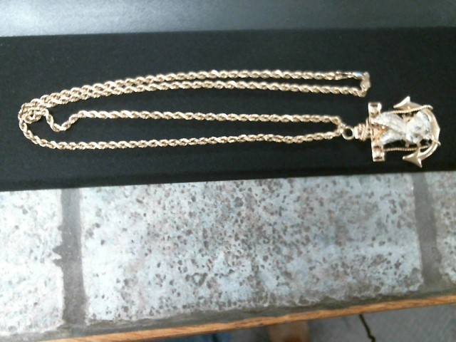 Gold Rope Chain 14K Yellow Gold 17g