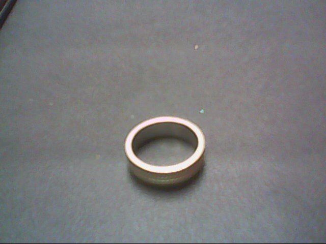 Gent's Gold Wedding Band 14K White Gold 5g Size:6.5