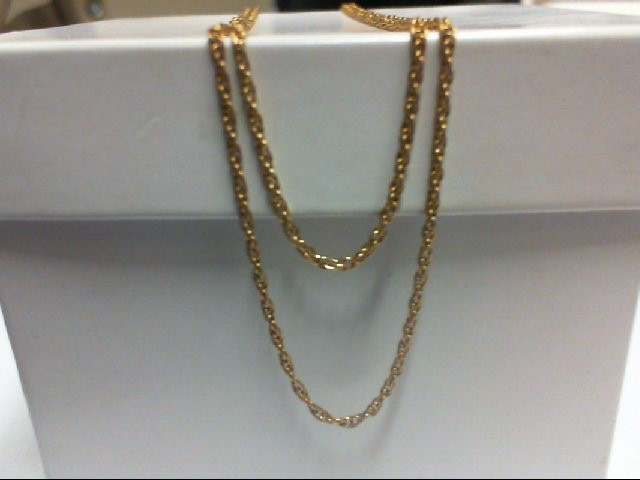 Gold Link Chain 14K Yellow Gold 2g